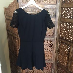 Excellent Condition Madewell Sessun Black Dress XS